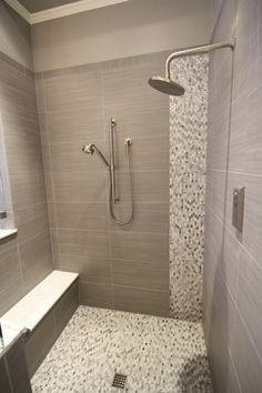 Linen Shower Tile Design Ideas, Pictures, Remodel, And Decor
