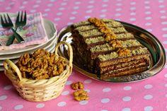 Csokis diós süti (paleo) Almond, Keto, Bread, Minden, Dios, Brot, Almond Joy, Baking, Breads