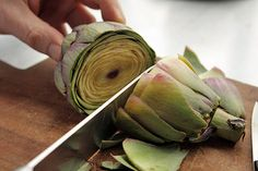 How to Prepare and Cook Artichokes by David Lebovitz