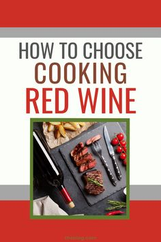 There are plenty of types of red wine to choose.  But what about cooking red wine?  There's a real trick to this and it isn't the obvious one!  Check out these tips on choosing red wine for cooking, for drinking and pairing with food Red Wine Cocktails, New Year's Drinks, Wine Drinks, Cooking With Red Wine, Cooking Wine, Sweet Red Wines, Sweet Wine, Red Wine Benefits, Types Of Red Wine