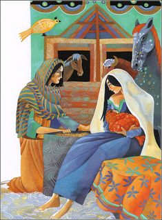 """""""Birth of Christ"""" by Christina Balit (The Lion Illustrated Bible for Children)"""