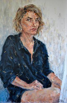 Capucine Léonard-Matta - Autoportrait à Fort-Mahon