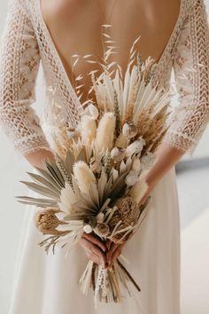 Boho Wedding Bouquet, Tan Wedding, Boho Wedding Flowers, Bridal Flowers, Bridesmaid Bouquet, Floral Wedding, Wedding Blog, Boho Flowers, Rustic Bouquet