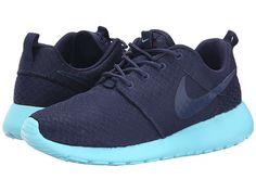 Nike Roshe Run Midnight Navy/Tide Pool Blue/Midnight Navy - Zappos.com Free Shipping BOTH Ways