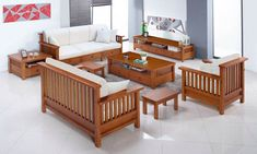 news and information about the latest homes, furniture, wallpapers and technology around the world. Furniture Sofa Set, Simple Furniture, Home Decor Furniture, Furniture Design, Latest Wooden Sofa Designs, Wooden Sofa Set Designs, Latest Sofa Set Designs, Corner Sofa Design, Living Room Sofa Design