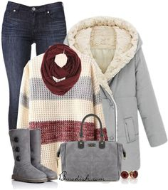 35 Winter Outfits Polyvore Ideas