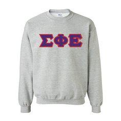 Sigma Phi Epsilon Fraternity Standards Crewneck Sweatshirt - Gildan 18000 - Twill