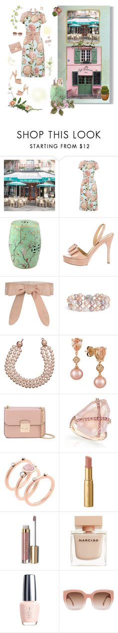 """The floral dress.. Fashion Palette group"" by deborah-518 ❤ liked on Polyvore featuring Warehouse, La Maison, Valentino, Zimmermann, Blue Nile, Chanel, LE VIAN, MICHAEL Michael Kors, Michael Kors and Too Faced Cosmetics"