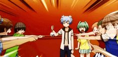 - Assassination Classroom - very funny moment.