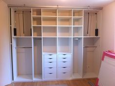 dressing petite chambre | Dressing / Astuces & rangements ...