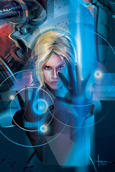 FANTASTIC FOUR / Susan Storm vector tribute by Orlando Arocena - mexifunk-on Behance