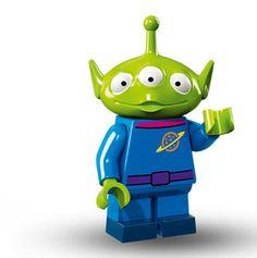Lego Minifigure Serie Disney, Alien - Toy Story