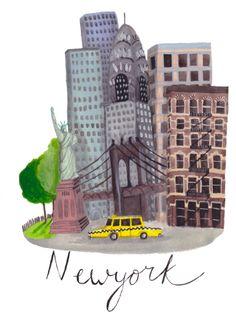 Cities - Ella Masters illustration