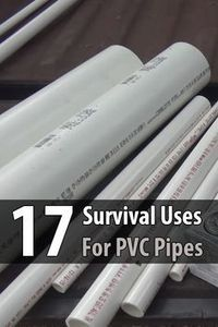 I've known for a long time that PVC has many survival uses, but there were several ideas in this video I never thought of before.
