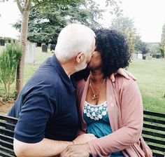 Her Kisses Still Thrill Me After All These Years Together! Interracial Dating Sites, Interracial Marriage, Interracial Love, Mixed Couples, Cute Couples, My Black Is Beautiful, Beautiful Family, Black Woman White Man, Black Women
