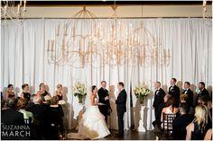 Suzanna March Photography #AldenCastle #ModernVintage #Wedding #Ceremony