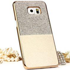 Original Urcover® Diamond Samsung Galaxy S6 Edge Plus Hülle | Elegantes Glitzer Backcase [deutscher Fachhandel]Gold 16,90€