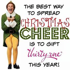 It's not too early to think about Christmas gifts! Contact me at: mythirtyone.com/tracycb