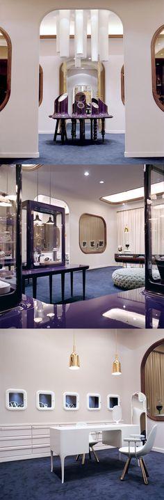 Octium, Jewelry shop Designed by Jaime Hayon Kuwait, UAE