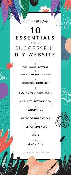 Website must-haves