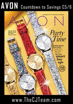 Avon Campaign 5/6, 2017 - Countdown To Savings Avon Sales Flyer.  Shop early, these are only available WHILE SUPPLIES LAST!  Shop Avon Campaign 5 & 6, 2017 Outlet online February 2, 2017 through March 1, 2017. #Avon #CJTeam #Campaign6 #Campaign5 #ShopNow #Sale #CountdownToSavings #PartyTime #WhileSuppliesLast #AvonFlyer Sell Avon Online @www.cjteam.us. Shop Avon Online @www.TheCJTeam.com