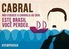 Arte de Eduardo Sá, a.k.a. Benguelê, via Flickr #mudabrasil #vemprarua