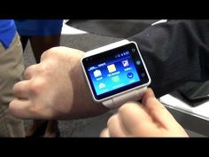 Neptune Pine Smartwatch at CES 2014 #smartwatch