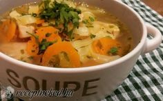Téli leves recept fotóval Thai Red Curry, Feta, Bacon, Ethnic Recipes, Christmas, Xmas, Navidad, Noel, Natal