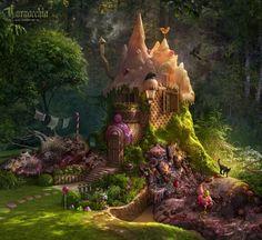 Fairly-like fairytales Hansel and Gretel photography