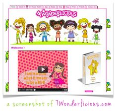 """""""7Wonderlicious focuses on overturning the gender stereotypes that make girls obsess with body image, keep girls from taking leadership roles, that limit girls' interests in sciences and math and cause them to feel self-aware when playing sports. This project focuses on activism, literacy and on creating products for girls that counter the gender stereotypes that are so prevalent in our society."""" – Ines Almeida, founder of 7Wonderlicious & A Chain of Girl Goodness"""