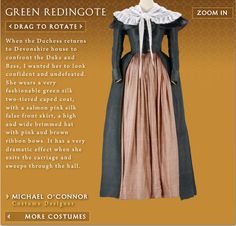 redingote from The Duchess courtesy of costumersguide.com