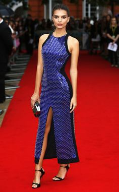 Emily Ratajkowski from The Big Picture: Today's Hot Pics  Va va voom! The actress shuts down the red carpet at her We Are Your Friends premiere in London.