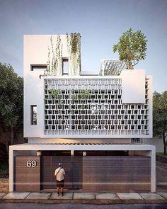 13K 個讚,24 則留言 - Instagram 上的 Amazing Architecture(@amazing.architecture):「 Nghi Tam Ha Noi villa. #Hanoi www.facebook.com/amazingarchitecture ✔️ #amazingarchitecture… 」