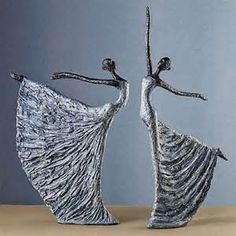 Dancing Figurines #dance: | Papier masher | Pinterest ...
