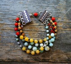 Colorful Bohemian Bead Bracelet