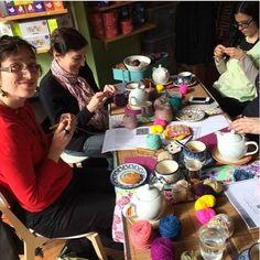 Louenore tricote & coud: 2ème matinée crochet à l'oisivethé!