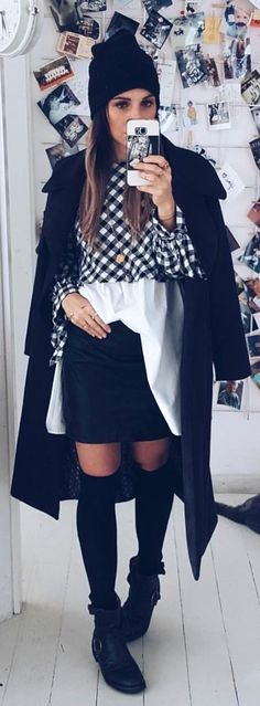 #winter #outfits  Today's Look🖤 10 Feet Tall In This Pic 🤔 . . . #blackandwhite #nopants #ootd #outfitoftheday #lookoftheday #tagsforlikes #fashion #fashiongram #style #beautiful #lookbook #look #wiwt #whatiwore #whatiworetoday #ootdshare #outfit #wiw #clothes #mylook #fashionista #todayimwearing #instastyle #instafashion #outfitpost #fashionpost #fashiondiaries #stylish