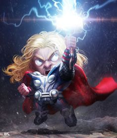 Thor, kuchu pack : S...@MADAO一族采集到SD(4009图)_花瓣插画/漫画