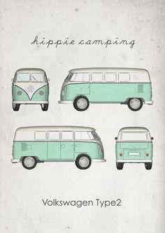 Volkswagen – One Stop Classic Car News & Tips Volkswagen Bus, Volkswagen Vintage, Vw T1, Vw Camper, Volkswagen Transporter, Hippie Auto, Hippie Car, Wolkswagen Van, Van Vw