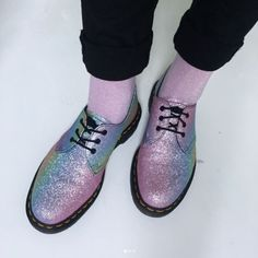 The Rainbow Glitter 1461 shoe, shared by malvina_j.