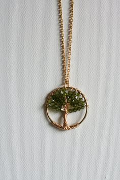 Jewelry I love. Tree of life necklace. Reminds me of Casting Crowns new CD Thrive.