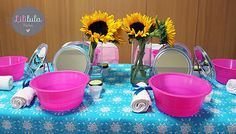 Mesas de dulces y Spa para niñas en Querétaro | Frozen Fever Spa Party!