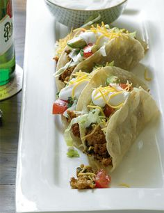 "Katie Lee's ""Herbie's Tacos""  Made these last night and were very good!"