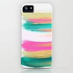 I like this case because it uses light colors that are easy on the eyes in a way that is visually interesting. It looks like there are brushstrokes on the  case, which makes it look more artistic.