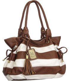 this is a really adorable purse!!! I actually don't have a brown purse.