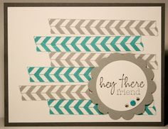 Klompen Stampers (Stampin' Up! Demonstrator Jackie Bolhuis): Tape It