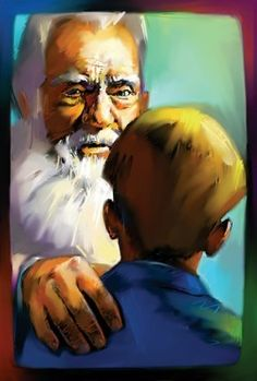 The giver transfers memories from outside of the community to jonas by