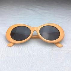 f7966ea64f7ac Kurt Cobain Checkered Clout Goggles Orange Color