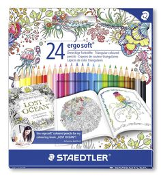 These High Quality Colored Pencils Are Wonderful For Sketching Drawing And Coloring Of Course Renowned Illustrator Johanna Basford Uses Them To Color Her
