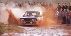 1977, 11º Rallye de Portugal Vinho do Porto. Markku Alen-Ilkka Kivimäki in the Fiat 131 Abarth.-Winners-Photo by Reinhard Mc Klein